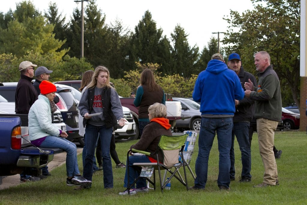 Homecoming 2018 tailgate