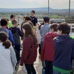 6th grade explore week visits Harrisonburg water treatment facility