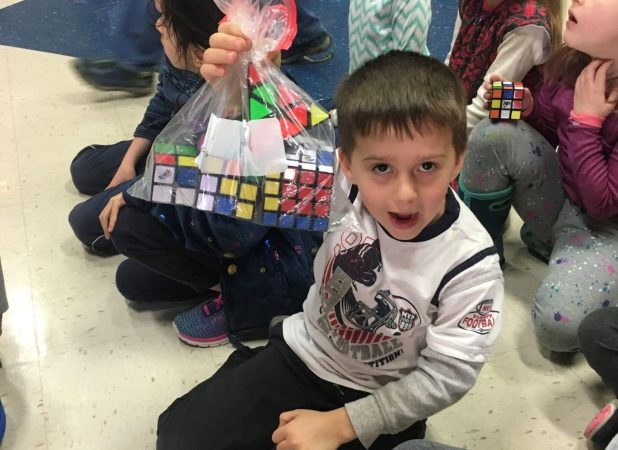 Elementary Rubiks Cube day