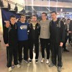 Senior players: Brenden Nussbaum, Zach Bauman, Zach Hatter, Jesse Byler, Grant Leichty