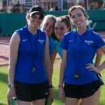 Coaches Katie Cimini and Chafin Vrolijk