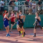 Track and Field , relay