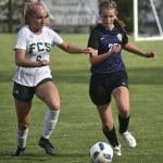 Halie Mast '21 for Eastern Mennonite. Jim Sacco DN-R