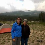 Mary Yoder and Andrea Wenger at Rocky Mountain National Park