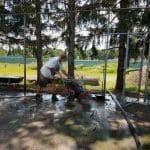 Elementary playground
