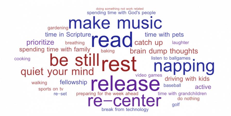 Sabbath: To rest