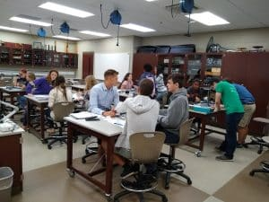 Physics lab at Eastern Mennonite University