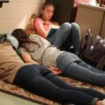 Some students chose to simply rest in a quiet room for Spiritual Renewal Week Sabbath practices
