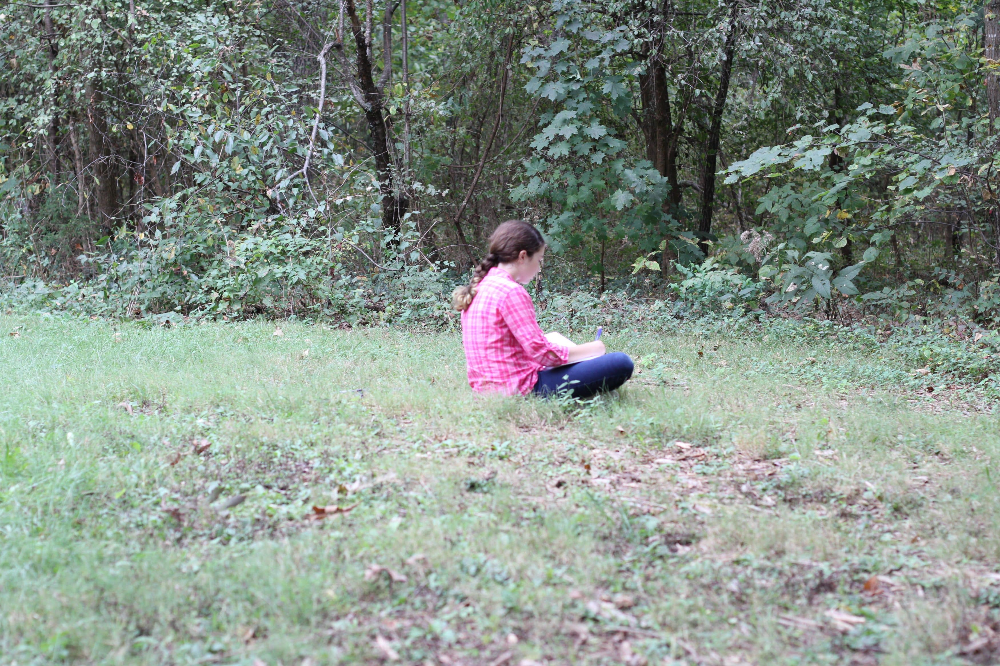 Quiet time in nature for Spiritual Renewal Week Sabbath practices