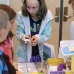 EMES 5th graders share projects with younger classes