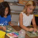 First grade artists