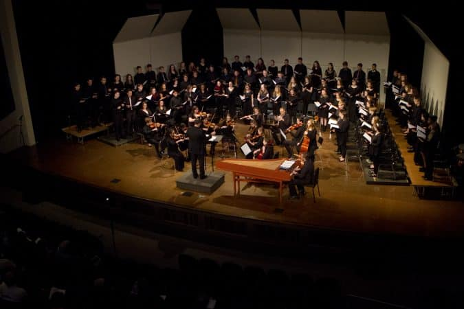 EMHS Christmas concert 2018