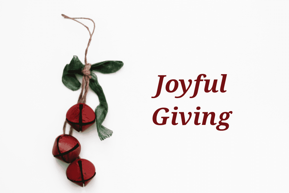 Joyful Giving - Web