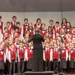 Shenandoah Valley Children's Choir under the direction of Janet Hostetler (EMHS class of 1983).