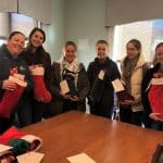Christmas stocking visit at VMRC
