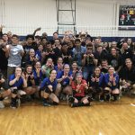 Varsity volleyball wins the conference and makes a state run, fall 2019
