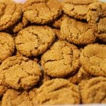 Volunteers supplied home baked cookies for letter writers