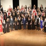 "EMS Chamber Choir performs ""Underneath the Stars"" with VOCES8, February 16, 2020"