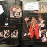 EMHS perrformed Les Miserables in 2006, pictured here in a yearbook with tickets for the 2021 production.