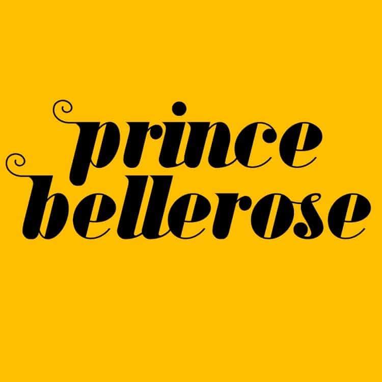 Prince Bellerose Black on Yellow square