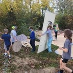 Planning the outdoor classrooms