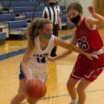 Halie Mast '21, girls varsity basketball