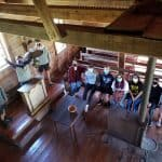 Hamburg Church in Luray where slaves once attended