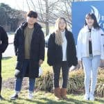 New students from South Korea join the EMS community in January 2021